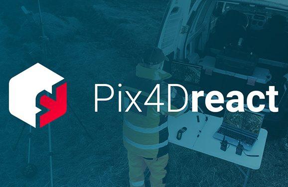 Pix4Dreact : la modélisation aérienne pour les situations d'urgence