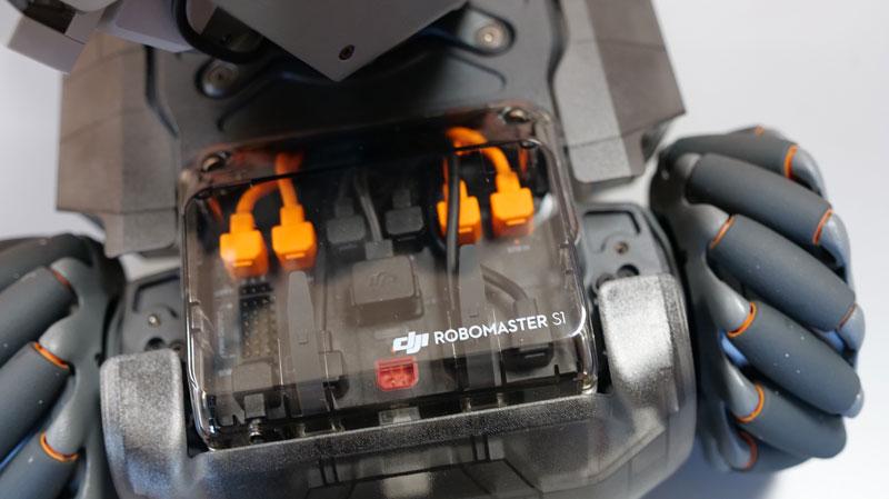 Compartiment électronique du RoboMaster S1