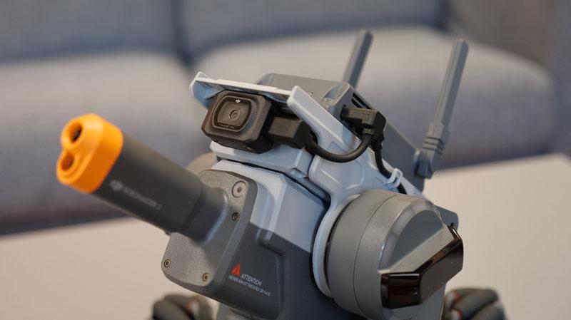 Canon et caméra du RoboMaster S1