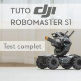 Test du DJI RoboMaster S1
