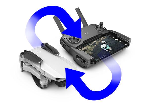 Appairage DJI Mavic Mini et radiocommande
