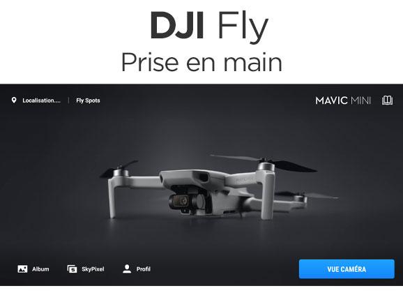 Débuter avec DJI Fly pour Mavic Mini