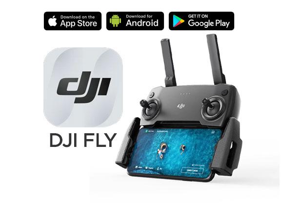 DJI Fly est disponible sur Android et iOS !