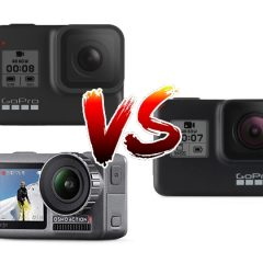 Comparatif Osmo Action Vs Hero7 Black Vs Hero8 Black
