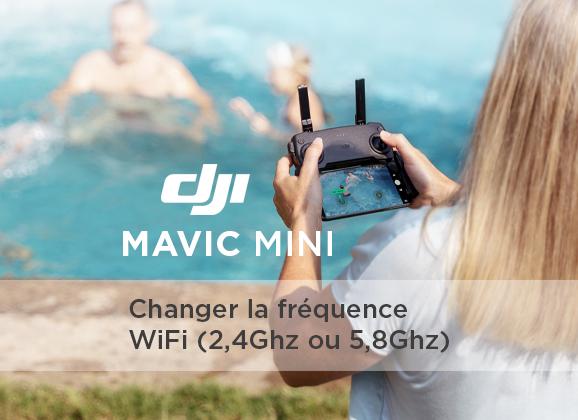Fréquences WiFi Mavic Mini