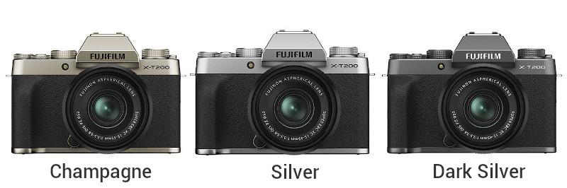 Couleurs Fujifilm X-T200
