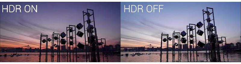 Mode HDR du Fujifilm X-T200