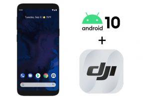 DJI Fly et Android 10 désormais compatibles