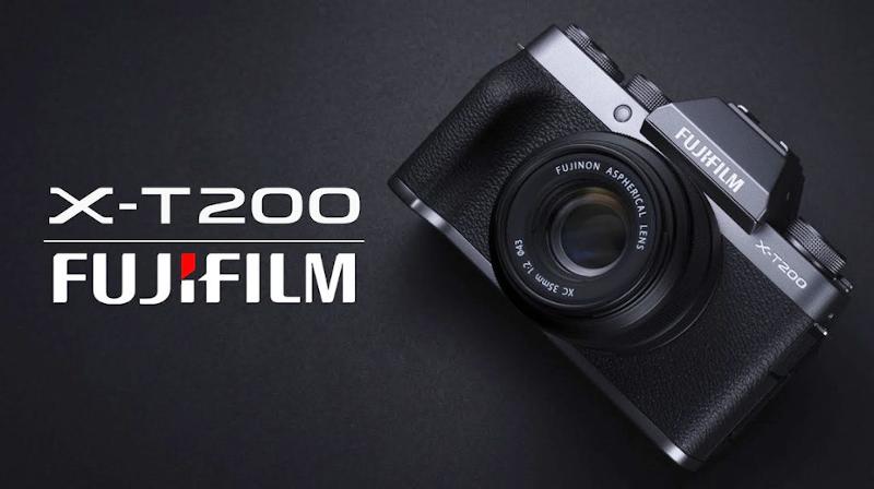 Fujifilm X-T200 gris