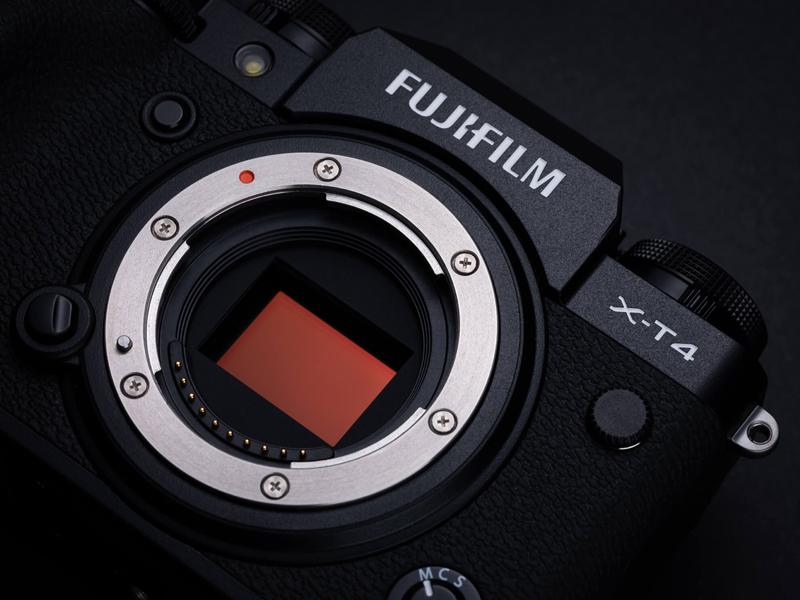 Capteur Fujifilm X-T4