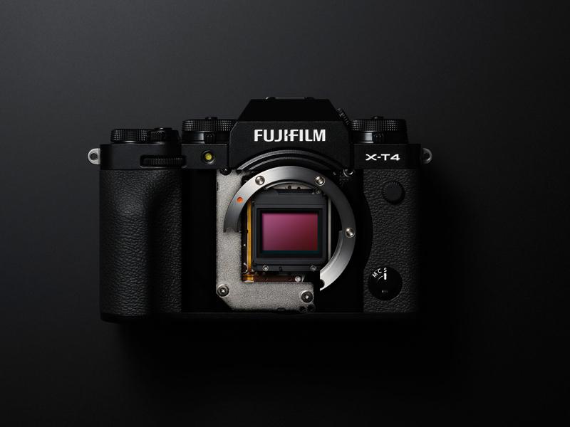 Stabilisation capteur Fujifilm X-T4
