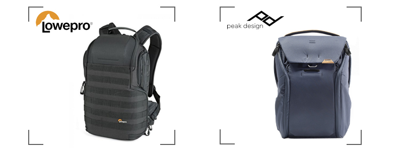 Comparatif avec Peak Design et Lowepro