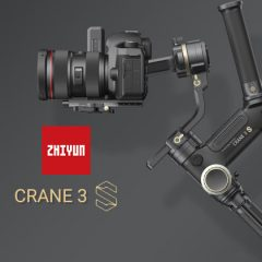 Zhiyun Crane 3S : le stabilisateur pour les pros par excellence ?