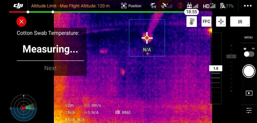 Etalonnage de température