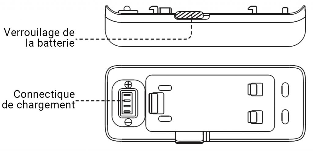 Schéma batterie Insta360 One R