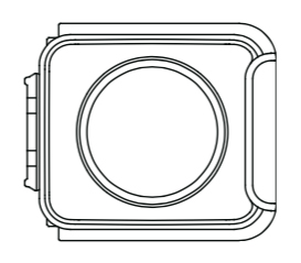 Schéma capteur 360° Insta360 One R