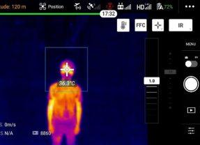 Mesurer la température corporelle avec un Mavic 2 Enterprise Dual ?