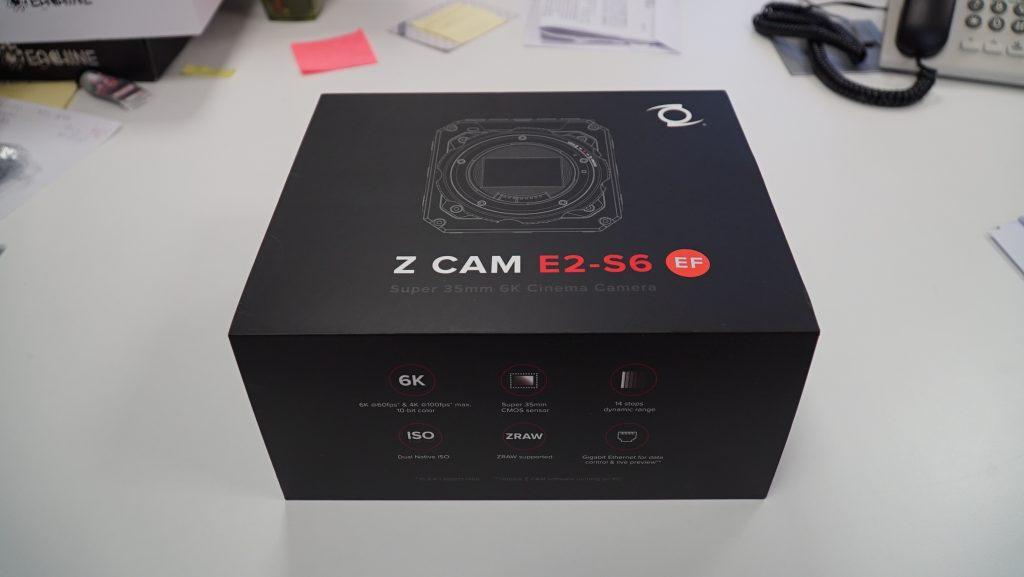 Packaging Z CAM E2-S6