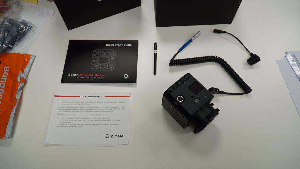 Z CAM E2-S6 et ses accessoires