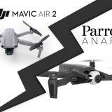 DJI Mavic Air 2 face au Parrot Anafi : comparatif technique