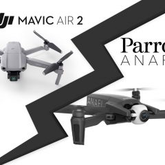 DJI Mavic Air 2 face au Parrot Anafi : comparatif technique
