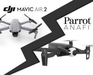 Mavic Air 2 face au Parrot Anafi