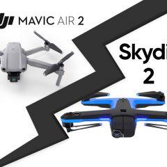 DJI Mavic Air 2 et APAS 3.0 : aussi performant que le Skydio 2 ?