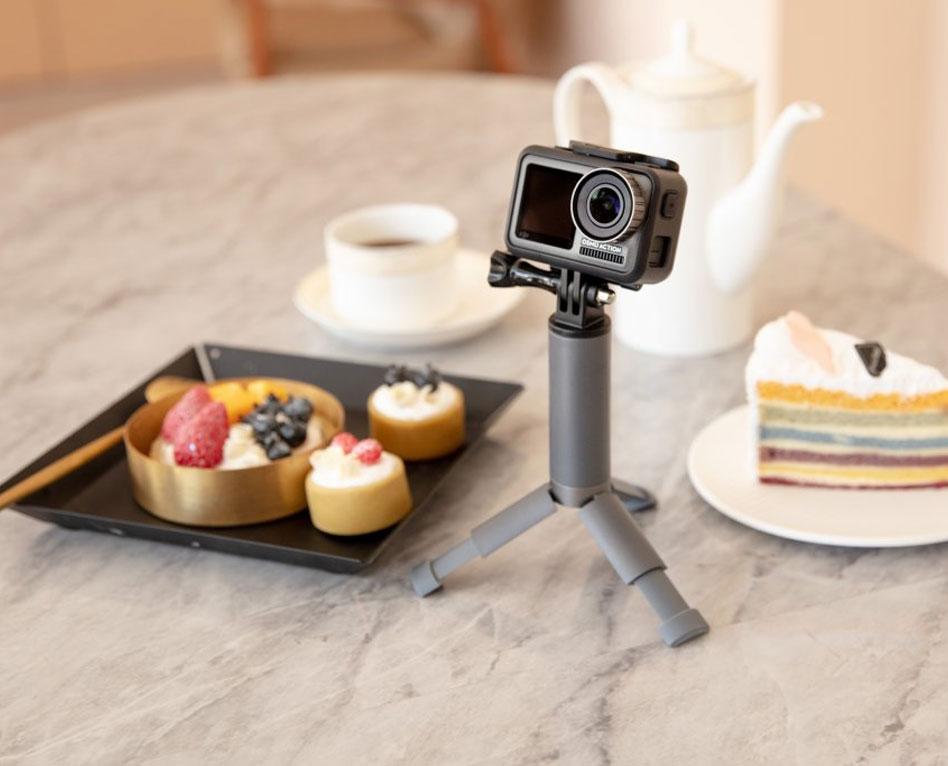 Comment faire un live avec la caméra DJI Osmo Action ?