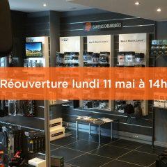 Réouverture du magasin studioSPORT de Boulogne