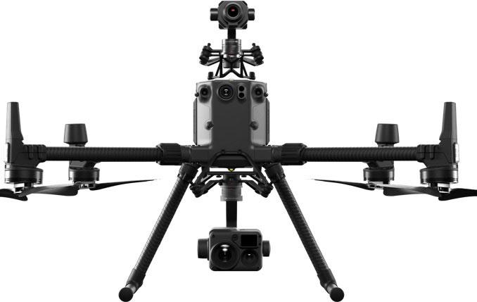 DJI Matrice 300 RTK avec 2 caméras