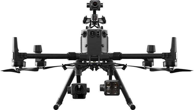 DJI Matrice 300 RTK avec 3 caméras