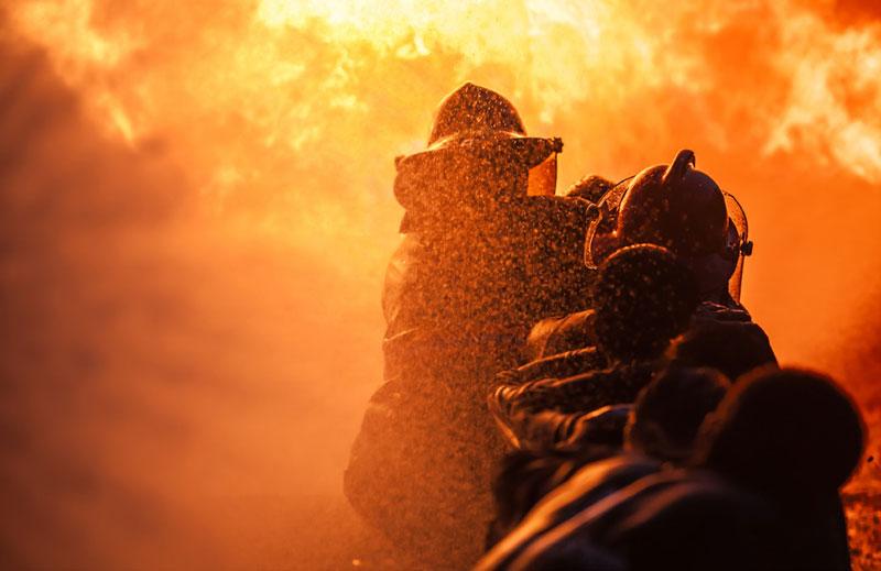 DJI Matrice 300 RTK feu de forêt