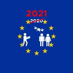 La loi européenne à propos des drones repoussée à janvier 2021