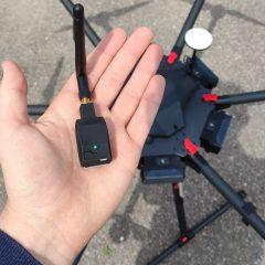 Les balises du système d'identification à distance pour drone