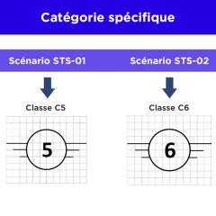 A quoi correspondent les scénarios standards européens STS ?