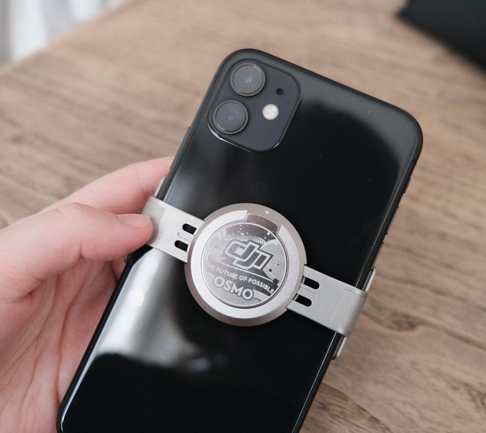 Pince magnétique pour smartphone