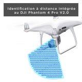 Phantom 4 Pro V2.0 : l'identification à distance disponible