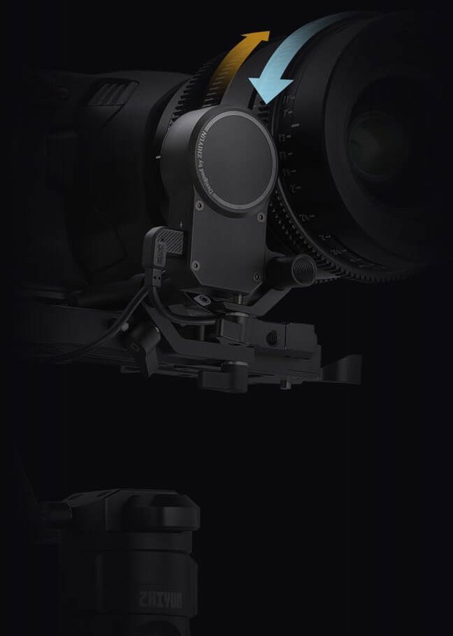 Zhiyun Crane 2S moteur focus