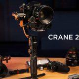 Zhiyun Crane 2S : toujours plus puissant !