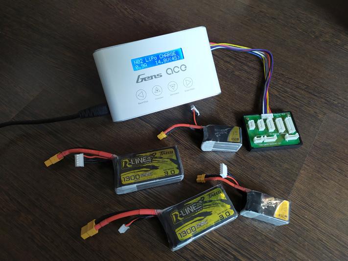 Chargeur GensAce iMars III