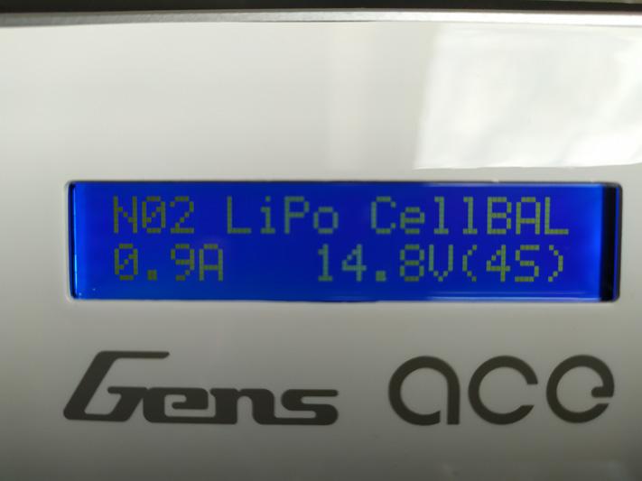 Chargeur GensAce iMars III paramètres