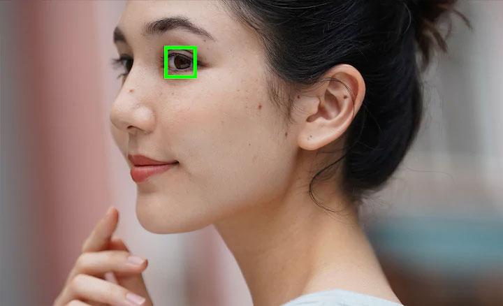 Sony A7C AF yeux