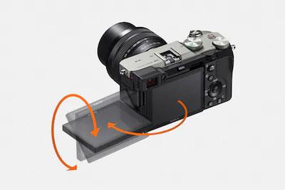 Sony A7C écran rotule