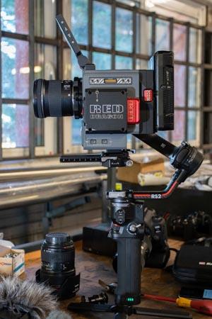 DJI RS 2 avec caméra RED