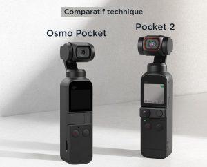 Comparatif technique Pocket 2 et Osmo Pocket