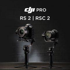 DJI RS 2 et DJI RSC 2 présentation des stabilisateurs DJI Pro