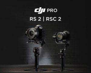 Présentation DJI RS 2 et RSC 2