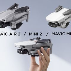 DJI Mini 2 face au DJI Mavic Mini et Mavic Air 2