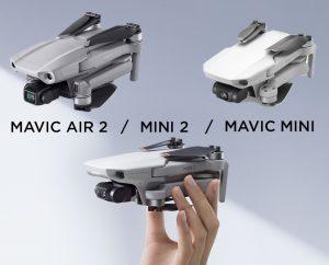Comparatif technique DJI Mini 2