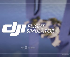 Simulateur drone DJI Flight Simulator